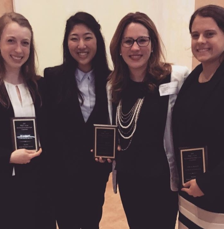 American University Washington College of Law's Jessup Moot Court Team Advances to Round 16 of International Competition