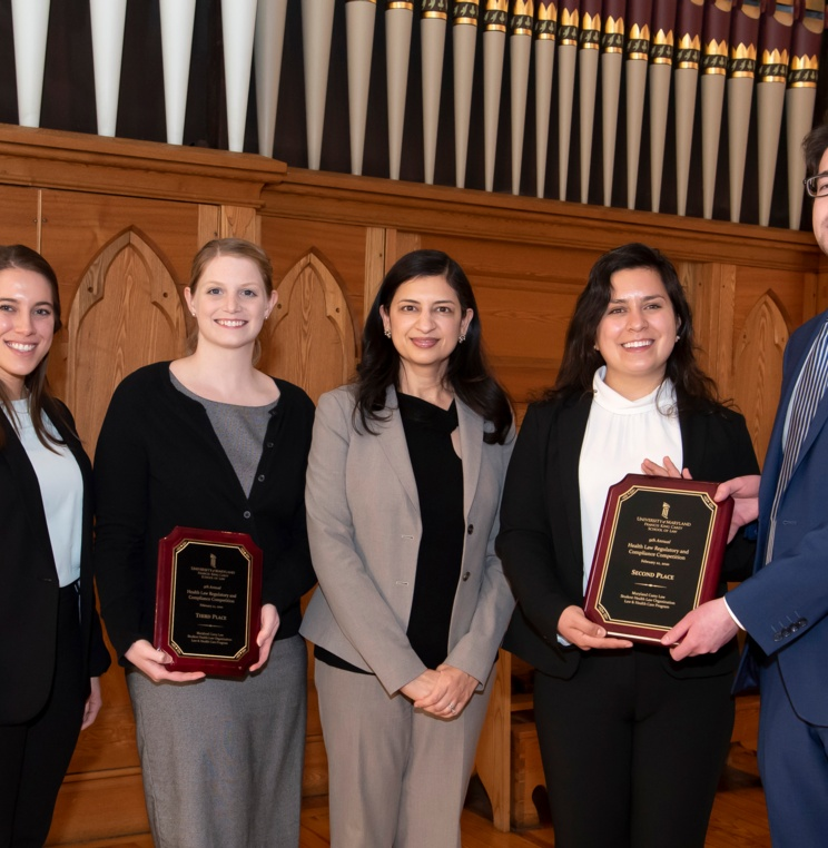 AUWCL Places Second and Third at the 9th Annual Health Law Regulatory & Compliance Competition