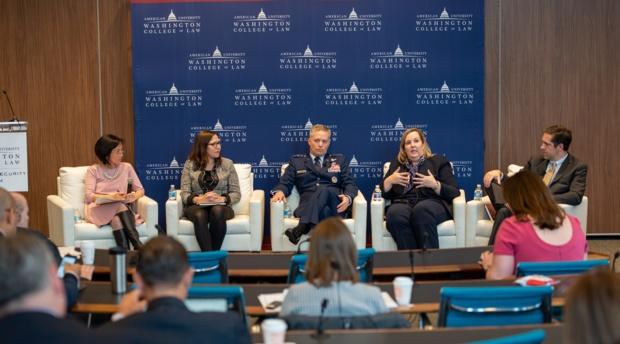Panel moderated by Washington Post national security reporter Ellen Nakashima.