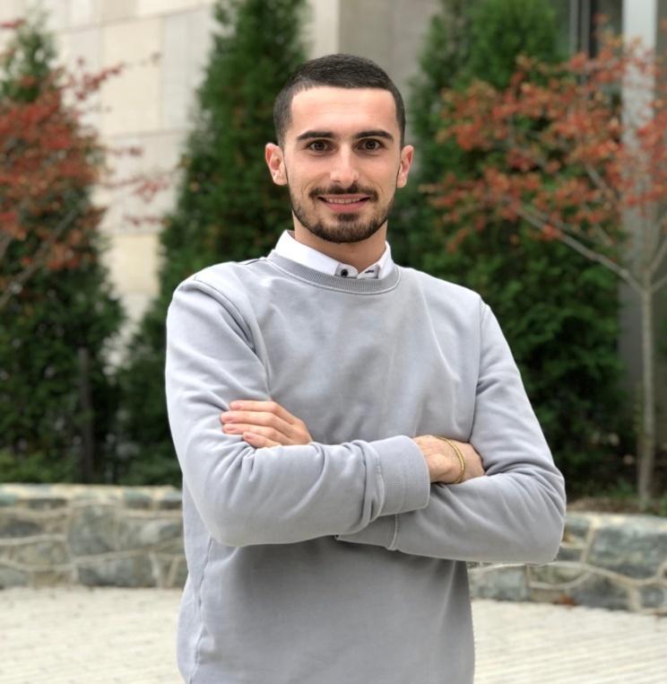 Second-year law student Joseph Kerins