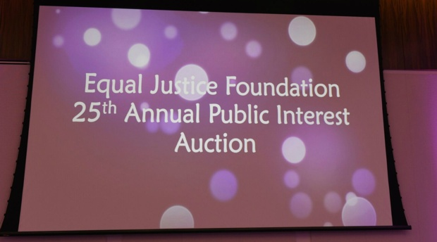 Celebrating the Equal Justice Foundation's 25th Annual Public Interest Auction