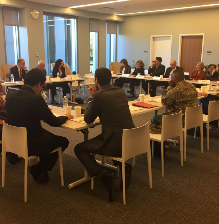 Roundtable Discussion Convened Experts to Discuss the Protection of Human Rights in Counter-Terrorism