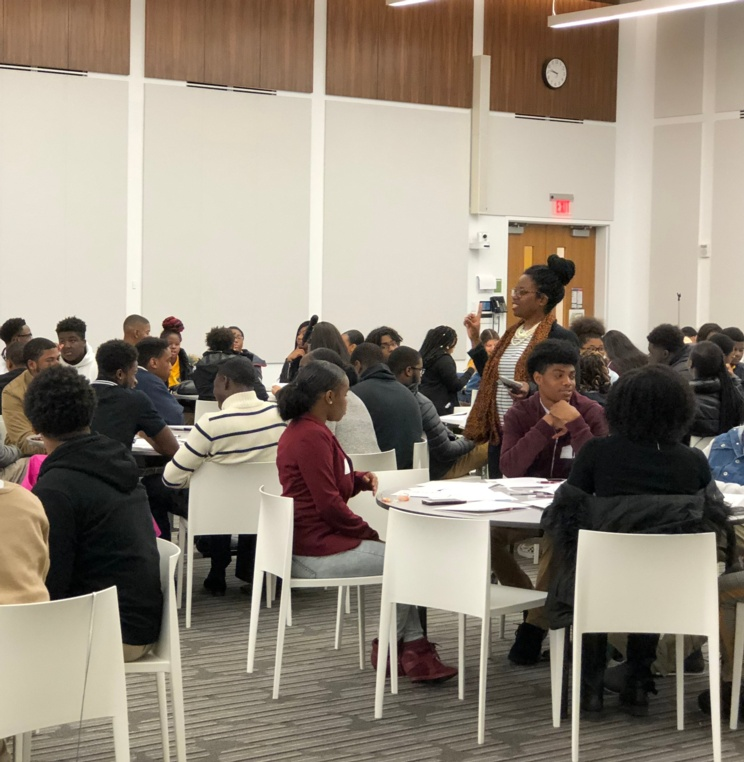 AUWCL Hosts Law Day for Prince George's County Public School Students