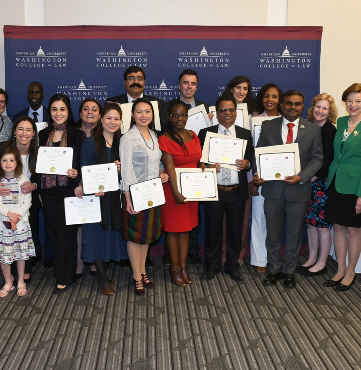 2018-19 Humphrey Fellows' Celebrated at Certificate Ceremony