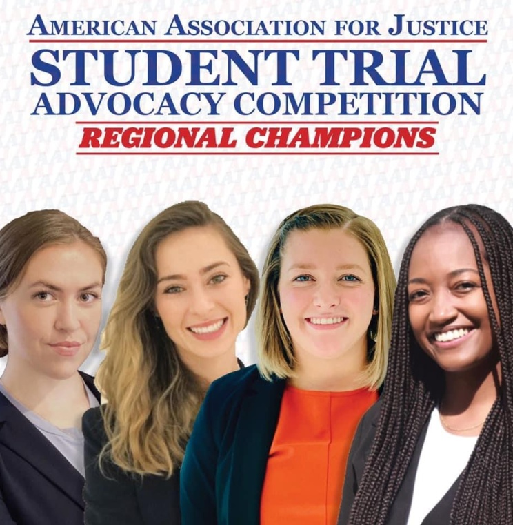 The Advocacy Program Congratulates Our Student Competition Teams for a Successful Weekend