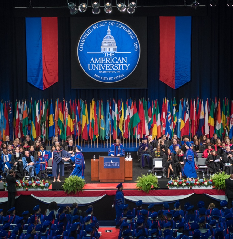 Washington College of Law Recognizes Outstanding Students with 2018 Commencement Awards