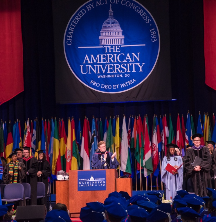 2017 American University Washingotn College of Law Commencement