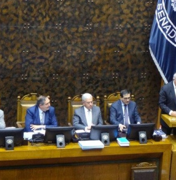 Professor Claudio Grossman Honored by Chilean President and the Senate of Chile