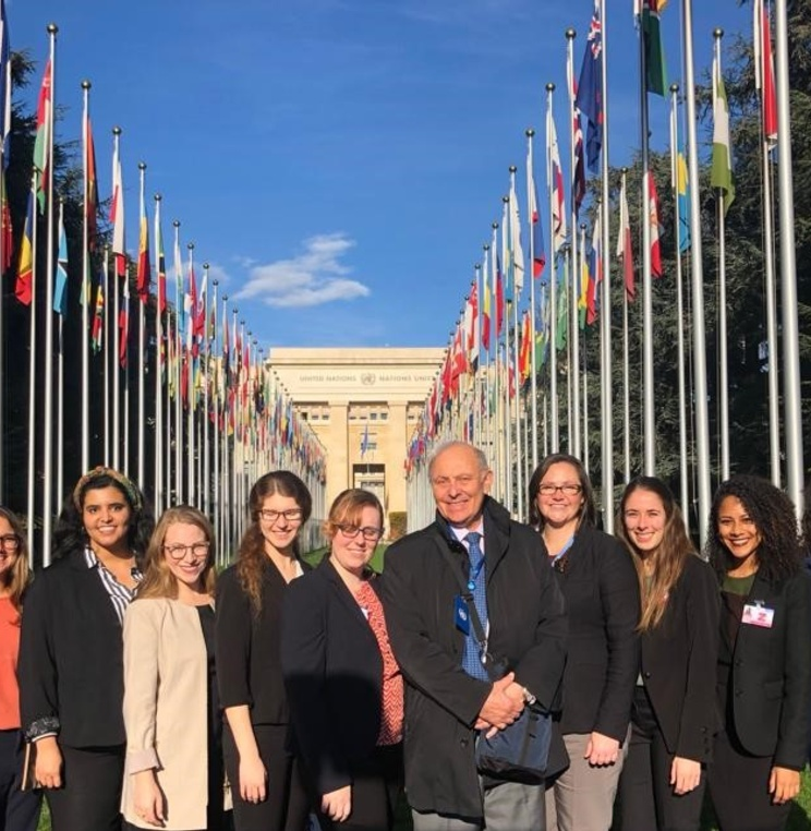 Students Participating in Kovler Project Attend the 65th Session of the UN Committee Against Torture in Geneva