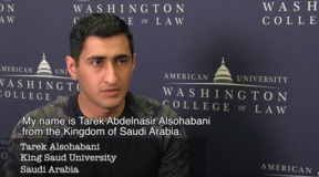 The Supportive Faculty at AUWCL - Tarek Alsohabani