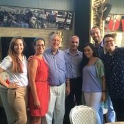 Associate Dean Jaffe and Professor Wermiel Meet with AUWCL Graduates Teaching in Turkey