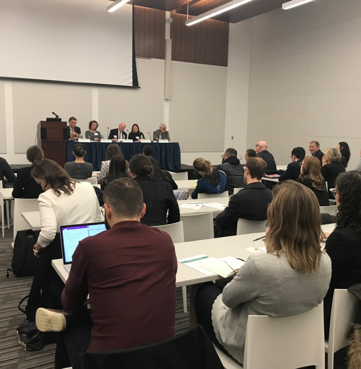 AUWCL's International Trade and Investment Law Society Presented the US Trade Policy Panel on WTO Participation and Potential Violation