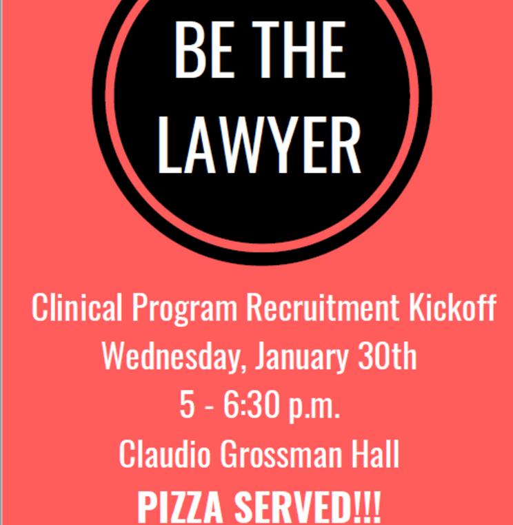 Clinic Recruitment Kicks Off!