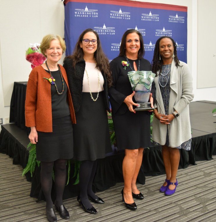 Lisa Rickard '82, President of U.S. Chamber Institute for Legal Reform, Receives AUWCL's Women and the Law Leadership Award