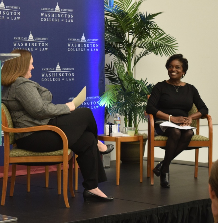 AUWCL Welcomes Former FCC Commissioner Mignon Clyburn