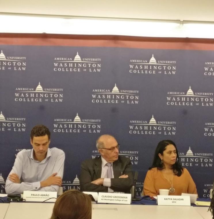 Mesa redonda: Hemisferio en Crisis? La Grave Situación de los derechos humanos en Venezuela e Nicaragua