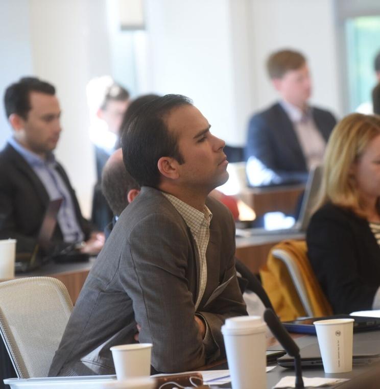 Audience at Antitrust Event