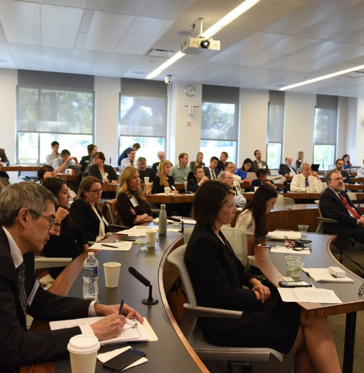 Audience at the Antitrust Law Event