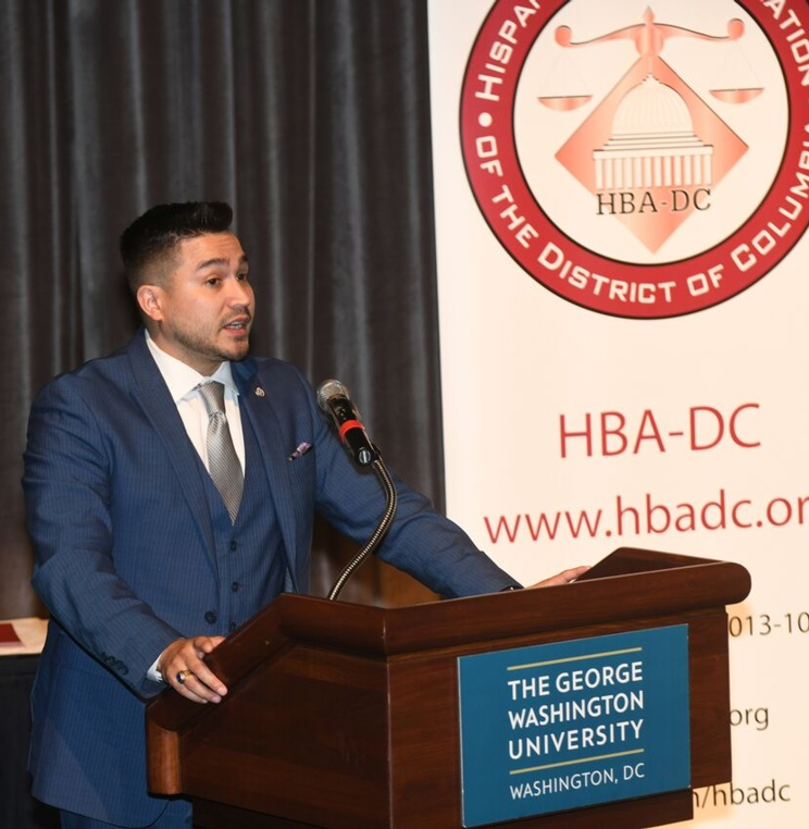 Richard Rodriguez, WCL alum and HBA-DC President