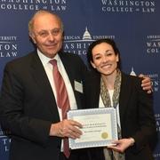 AUWCL Celebrates Scholarship Recipients at Annual Dinner