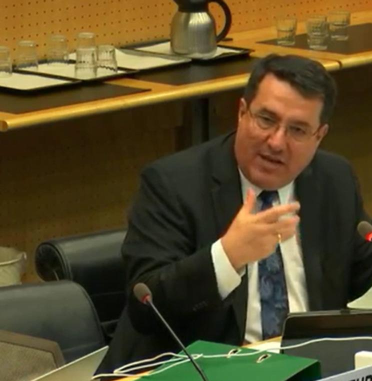 El profesor Diego Rodríguez-Pinzón participó en la 70ª Sesión del Comité Contra la Tortura de la ONU