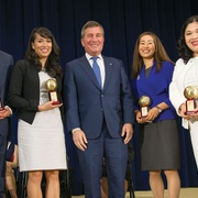 Alumna Receives American Foreign Service Association's Rivkin Award for Constructive Dissent
