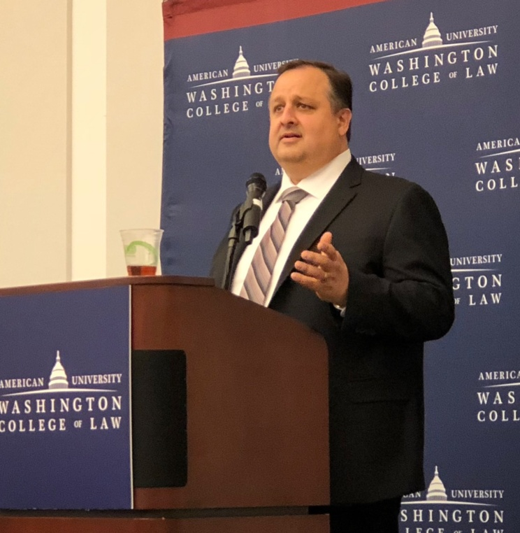 Former Director of the Office of Government Ethics Walter Shaub '96 Lays Out